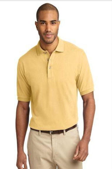 Port Authority Heavyweight Cotton Pique Polo. K420